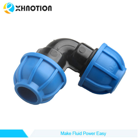 Xhnotion Plastic Compressed Air Fitting Equal Elbow Joint Connector