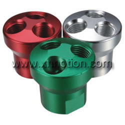 Colorful Aluminium Manifolds Base Manufacturer
