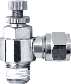 Brass Pneumatic Compression Fittings for Copper Tubes