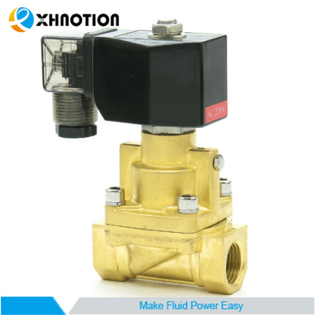 Pilot Operated Stainless Steel Xla Series Steam Solenoid Valve with Piston Seal