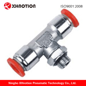 Pneumatic Brass Push in Fittings with Plastic Sleeve Bpb