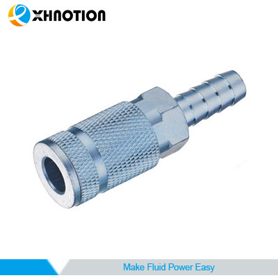 Pneumatic Steel Quick Coupling Barb Socket