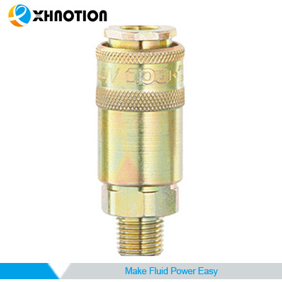 Xhnotion Steel Male Socket Quick Coupling