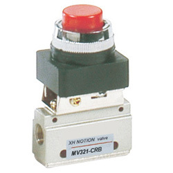 Pneumatic Mini Push Button Valve