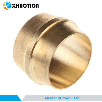 4mm Metal Fitting Compression Fitting Brass Ferrule