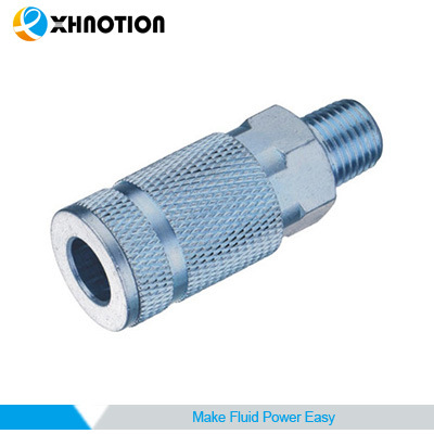 Chrome-Plated Stainless Steel Quick Coupler Male Socket
