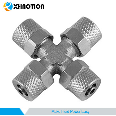 Push-to-Connect Fitting Union Cross Fitting with High Temperature