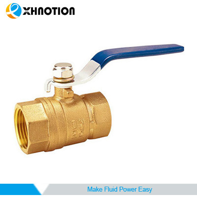 Brass Ball Valve Inline Lever Handle BSPT Female