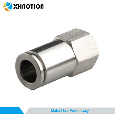Push-on-to-Connect Fitting Pneumatic Fitting Food Application Safety Fitting