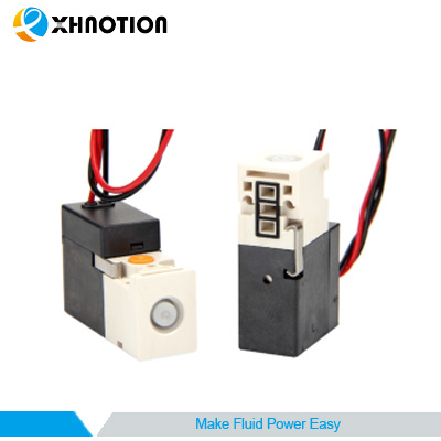 Mini Pilot Solenoid Valve Direct Exhaust Valve Energy-Saving Low Temperature Rise