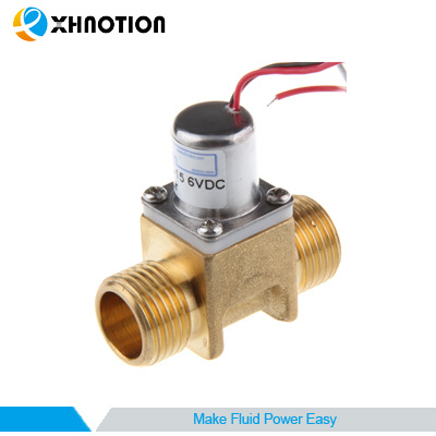 Landscape Irrigation Brass Male Thread Bi-Stable Pulse Solenoid Valve