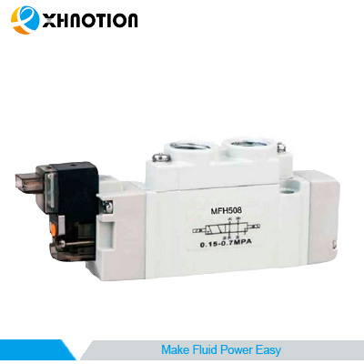 Double Head Standard Connector Tiger Solenoid Valve with Longer Durability Air Resource
