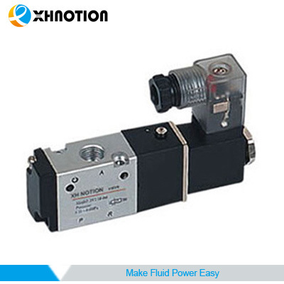 3V Series 3 Way 2 Position Single Head Pilot Operated Solenoid Valve