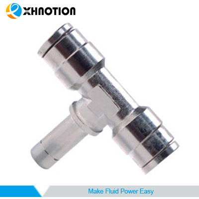 Plug Fitting Plug in Reducer Tee Fitting with High Pressure