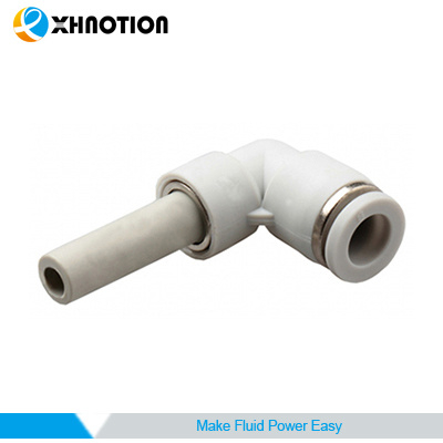 Plastic Push-to-Connect Fitting 90 Degree Plug-in Elbow Fitting