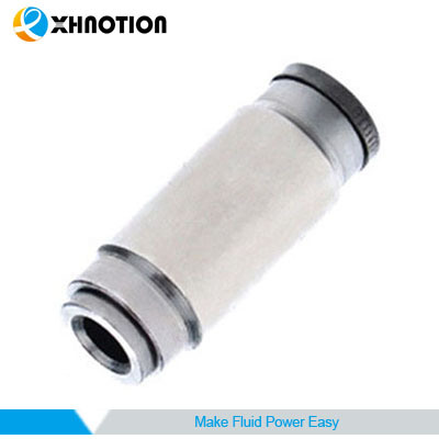 "Xhnotion Nickel-Plated Brass Fitting Union Reducer 5/16"" Od Thread X 1/4"" Od Thread"